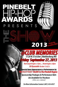 awardshow2013 promo flyer