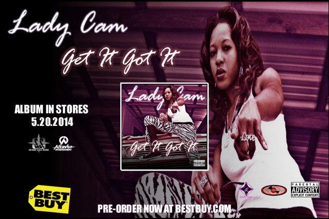 "Lady Cam ""Get It Got It"" Available For Pre-Order At Best Buy"