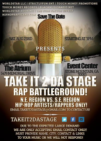 Take it 2 da stage